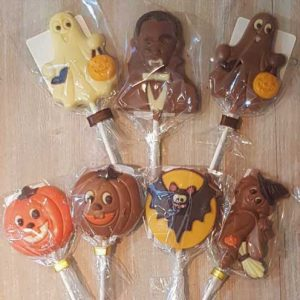 Chocolate Lollipops (various)