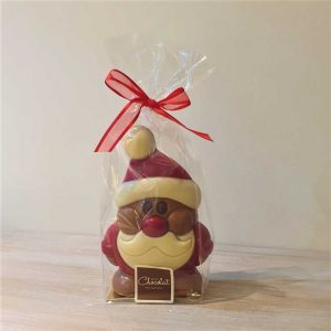 Medium Hollow Santa Figure