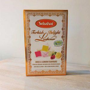 Rose & Lemon Turkish Delight