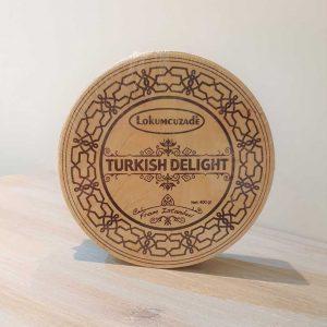 Rose & Lemon Turkish Delight Wooden Box
