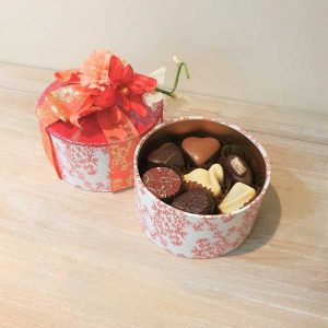 Oriental Floral Truffle Box