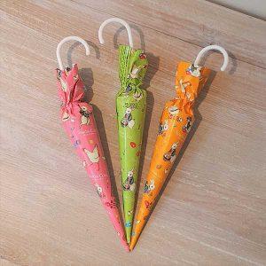 Easter Milk Chocolate Umbrellas