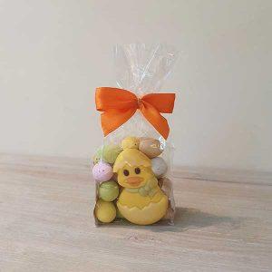Mini Eggs with Easter Figure